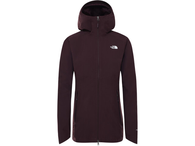 The North Face Hikesteller Parka Shell Jas Dames, root brown